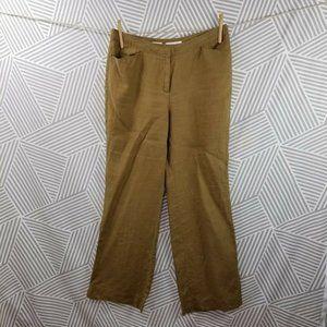 J JILL 100% Linen Pants Casual size 12 lagenlook